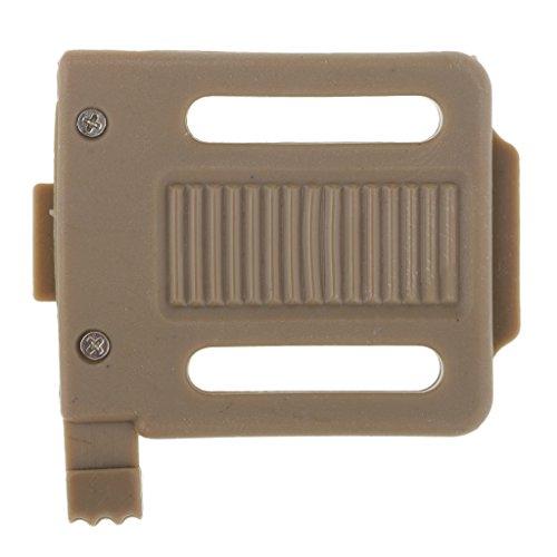 Baoblaze 1 Stück NVG Mount Adapter Passend für Standard-NVG-Helmabdeckungen und Rhino-Halterungen - Bräunen (Helm-mount-adapter)