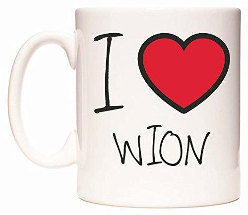 I Love WION Tasse de WeDoMugs