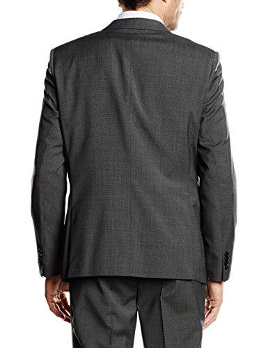 Esprit 996eo2g901 - Veste de Costume - Homme Gris (Dark Grey 5)