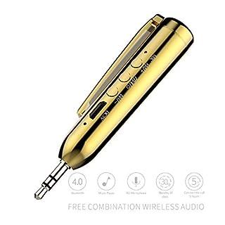 TianranRT Neu Auto Bluetooth Stift Audio Receiver Adapter AUX Drahtlos Hände Frei Anrufe Neuwagen Empfänger Drahtlose