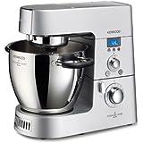 Kenwood Cooking Chef KM 070 Küchenmaschine / Induktions-Kochsystem / 8 Geschwindigkeitsstufen / inkl. Dampfgareinsatz , Mixaufsatz, Multi-Zerkleinerer und verschiedenen Rührelementen