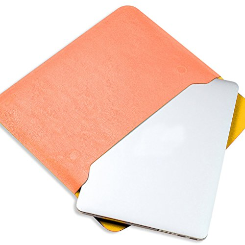 YiJee MacBook Air / Pro Laptop Hülle Notebook Tasche Schutzhülle Aktentasche 12 Zoll Orange