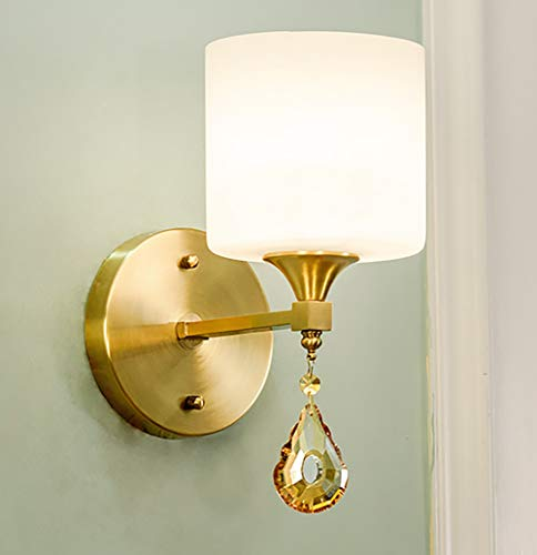 ZUEN LED Vanity Wall Sconces Lighting Over Mirror, Indoor Vanity Strip Wall Light Mirror Vanity Light Fixtures for Bathroom Vanity Bedroom Lighting -