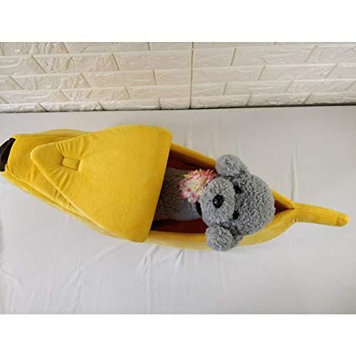 Hemore - Cama para Gatos con Forma de plátano