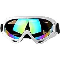 37e16ce92bf660 AOLVO Lunettes de Ski, Snowboard avec Protection UV 400, résistance au  Vent, Verres
