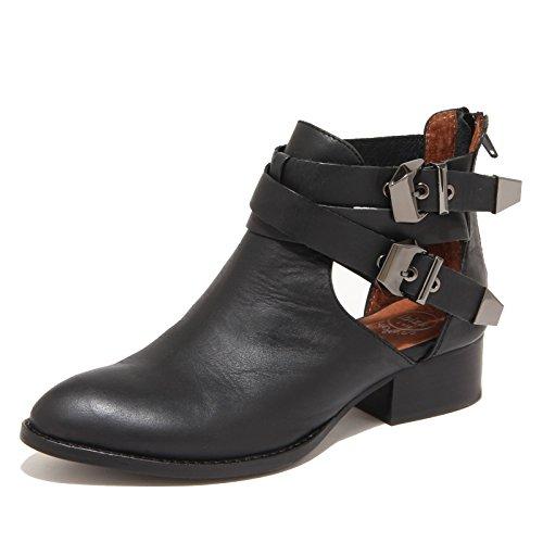 8022N stivaletto JEFFREY CAMPBELL EVERLY nero tronchetti donna boots women [40]