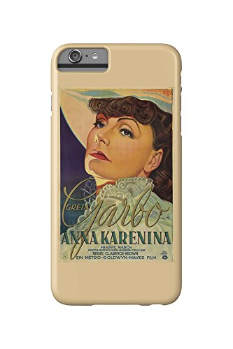 Price comparison product image Anna Karenina Vintage Poster (artist: Schulz Neudamm, Heinz) Germany c. 1935 (iPhone 6 Plus Cell Phone Case, Slim Barely There)