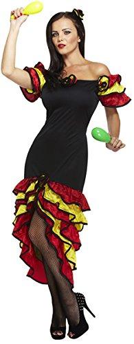 Flamenco Kostüm Rumba Lady (Ladies Rumba Woman Spanish Dancer Senorita)