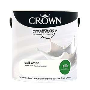 Crown Silk 2.5L Emulsion - Sail White