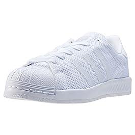 brand new a44d8 ee71b adidas Superstar Bounce By1589, Scarpe da Ginnastica Basse Unisex-Bambini,  Bianco (White ...