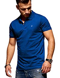 JACK & JONES Polo para Hombre Camiseta Camisa Manga Corta Unicolor