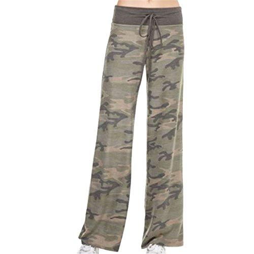 RainBabe - Pantalon de sport - Femme X-Large camouflage