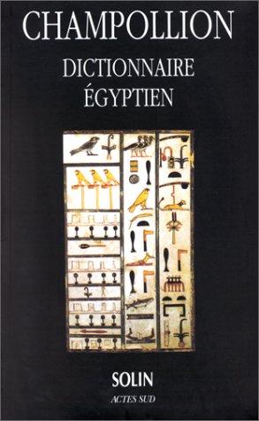 Dictionnaire égyptien