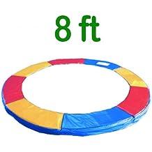 Greenbay 243,84 cm cama elástica de repuesto Pad Protector de Spring funda acolchada para cama de espuma de Tri-color