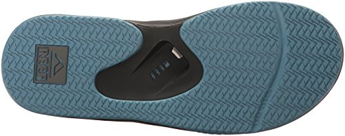 Reef Herren Fanning Sandalen Mehrfarbig (Grey/Light Blue)