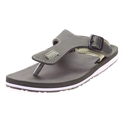 Adda Abraf General Adda Men's Omega 1 Flip Flops Slipper (9, Olive)
