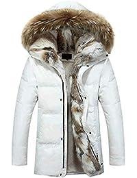 brand new a7d4e 1432f Amazon.it: pelliccia bianca - Giacche e cappotti / Uomo ...