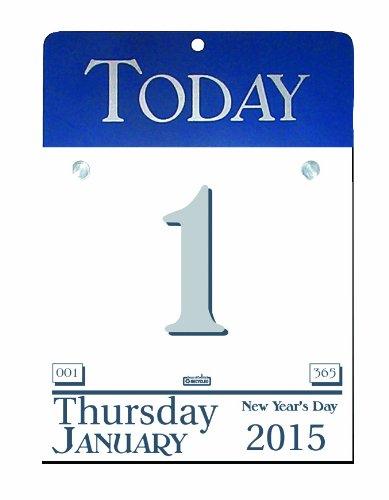 House of Doolittle 2015 Nachfüllung für unseren heutigen Kalender (Desktop-kalender 2015)