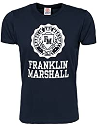 Franklin & Marshall Men's TSMVA073NS15 Navy Size Medium 100% cotton.