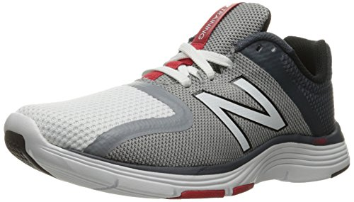 New Balance MX818BK2, Scarpe Running Uomo White/Steel