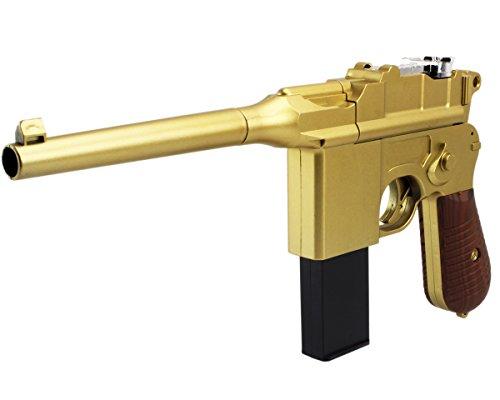 BW-GYD-Weltkrieg-Mauser-C96-11-Pistole-Softair-Airgun-Gewehr-Magazin-Federdruck-05-Joule-96303Gold