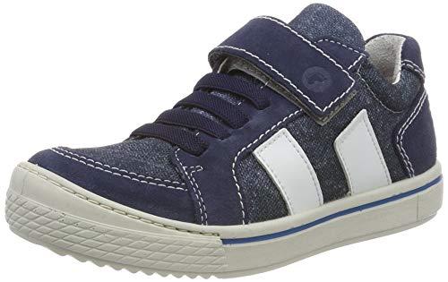 RICOSTA Jungen Jona Sneaker, Blau (Reef/Jeans 173), 33 EU