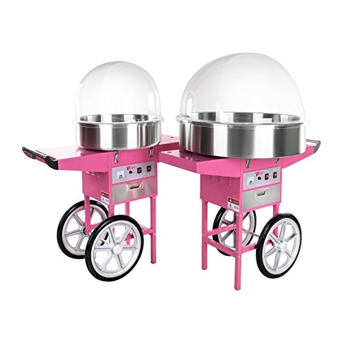 41MPcs49sbL. SS500  - Royal Catering - RCZC-1200E - Candy Floss Maker with Wagon - 1200 W - Cover Included