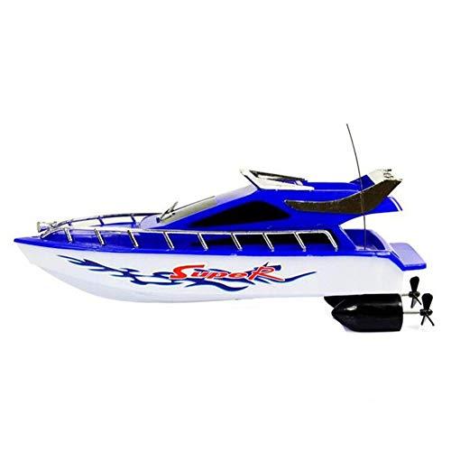 Kinder Mini RC Boote, Sommer und Erwachsene, batteriebetrieben, kabellos, elektrische Seen, Wasserspielzeug, Fernbedienung, Racing Speed Pools zufällige Farbe, Wie abgebildet, Free Size