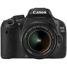 Canon EOS 550D - Cámara Réflex Digital 18.7 MP (Objetivo EF-S 18-55 IS)