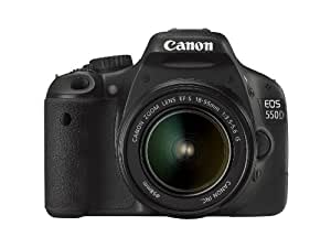 Canon EOS 550D Digital SLR Camera (inc 18-55 mm f/3.5-5.6 IS Lens Kit) - (Discontinued by Manufacturer)