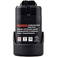 Powayup 10.8V 2.0Ah Li-ion de repuesto para Bosch Batería BAT411 BAT411A BAT412A 2607336013 2607336014