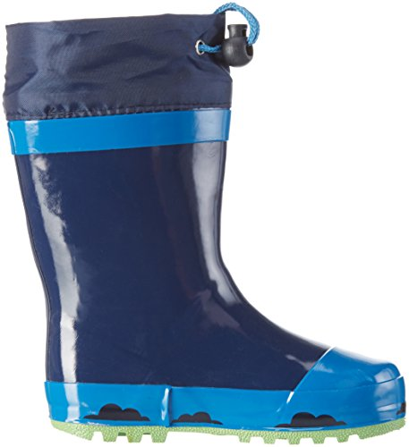 Arlo & Spot Jungen Boys Kids Rainboots Boots Gummistiefel Blau (CBL/NAV/NAV 001)