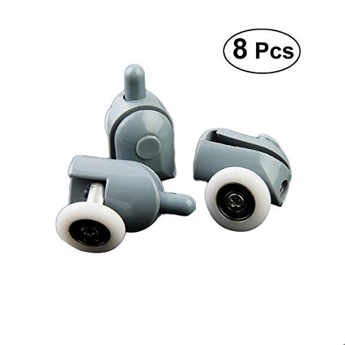 OUNONA 8Stück, Laufrollen-Set für 2–22mm, 25mm, 23mm, Durchmesser
