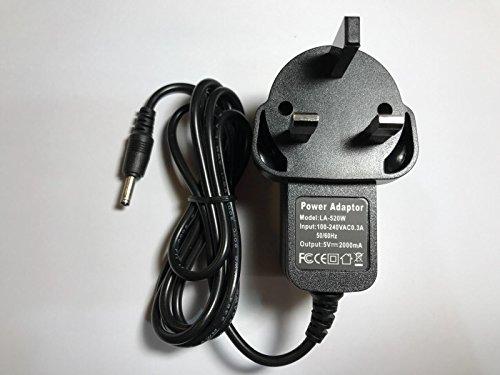 5V AC-Adapter mit Ladegerät für Coby Kyros MID7042-8-7042-8Tablet-PC (Netzkabel Für Coby Tablet)
