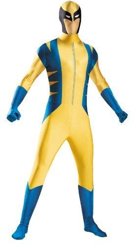 Wolverine Bodysuit Adult Costu by Halloween FX