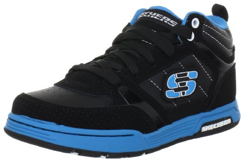 Skechers EndorsePummel 91848L Jungen Sneaker Schwarz (Bkbl)