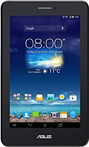 Asus Fonepad 7 ME175 2014 Edition 17,8 cm (7 Zoll) Tablet-PC (Intel Atom Z2520, 1,2GHz, 1GB RAM, 8GB HDD, SGX 544MP2, Android 4.3, 3G/UMTS) schwarz