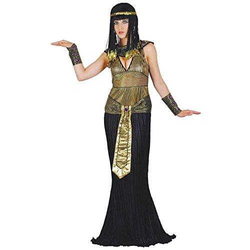 Edel Königin Kleopatra Verkleidungsparty Karneval Fasching Halloween Kostüm (Kostüm Halloween Fire Queen)
