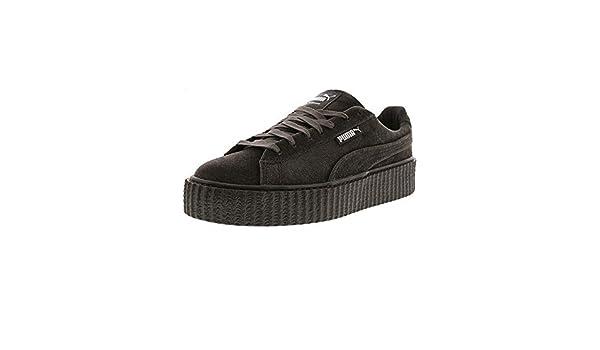 de9e7cb961a3 PUMA WOMEN S CREEPER VELVET 364466-03 RIHANNA FENTY GLACIER GREY DS SIZE   8.5  Amazon.co.uk  Shoes   Bags