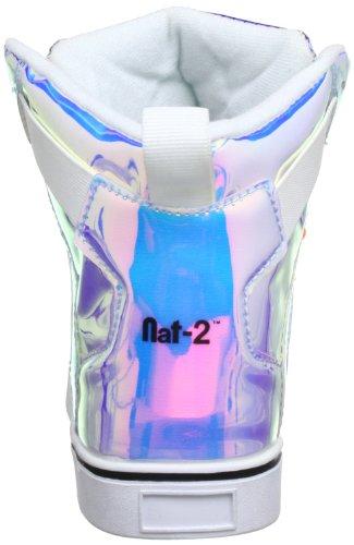 Nat-2 Cube 2, Baskets mode mixte adulte Multicolore (Metallic Vanish)