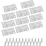 F/ácil de instalar Bisagra BESTZY Cierre Suave 170/° Kitchen de Bisagras para Armario o Puerta No requiere ranura 16 tornillos bisagras de puerta de /ángulo grande