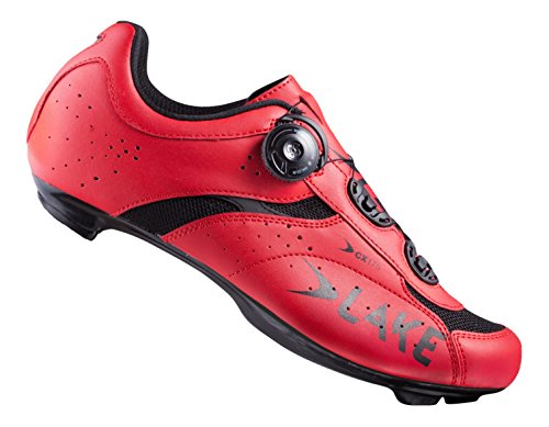 Lake Cx175 Chaussures Homme Rouge