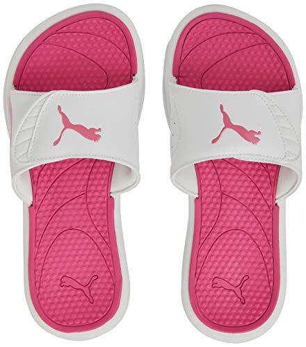 PUMA Royalcat Comfort Wns, Zapatos de Playa y Piscina para Mujer, Blanco White-Bubblegum 02, 42 EU