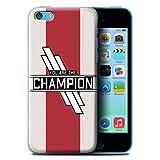 W3Tech Coque/Etui pour Apple iPhone 5C / Vous Êtes Le Champion Design/Bataille...