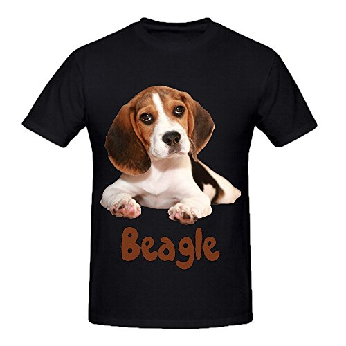 the-beagle-dog-mens-crew-neck-music-t-shirts-black