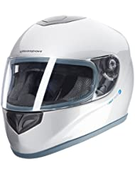 Ultrasport Motorrad-Integralhelm IH-1, Silber, Größe L