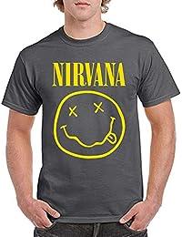 Amazon.es  Kurt Cobain - 0 - 20 EUR   Camisetas   Camisetas y tops  Ropa 7087cdd8a46