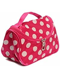EasyBuy India Zebra Stripe Portable Makeup Cosmetic Case Storage Travel Bag - B0775YM9G1
