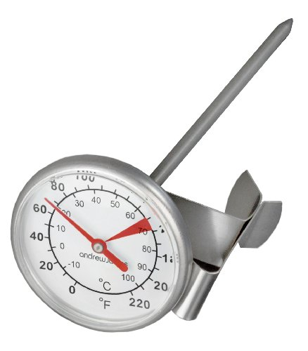 Andrew James Milk Thermometer St...