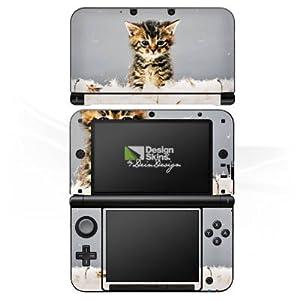 DeinDesign Skin kompatibel mit Nintendo 3 DS XL Aufkleber Sticker Folie Baby Katze Kitten Kitty